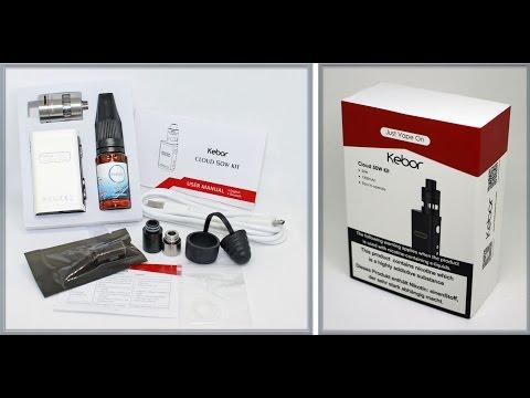 Kebor Cloud 50W E Cigarette Vape Box Mod Starter Kit