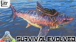 ARK: Survival Evolved - TAMING A MEGALODON! E19 ( Gameplay )