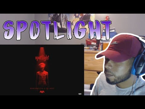 Marshmello x Lil Peep - Spotlight [Official Audio] REACTION