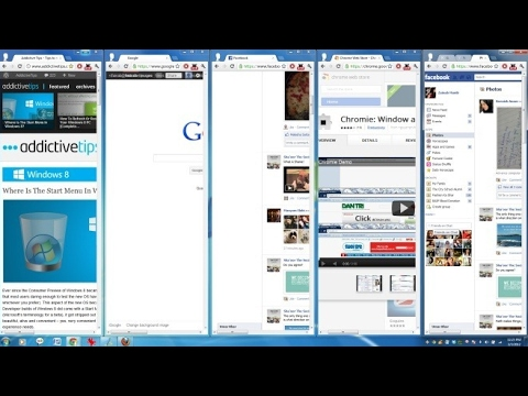 Tab Resize And Layout In Google Chrome Browser How To Show More Than One Tabs On Your Screen