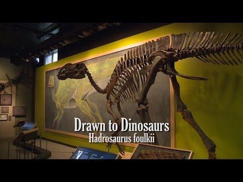 Drawn to Dinosaurs: Hadrosaurus foulkii