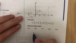 345 AYT Matematik TÜREV-I Ösym-1 Anlatımlı Çözümleri (2018-2019 basım)