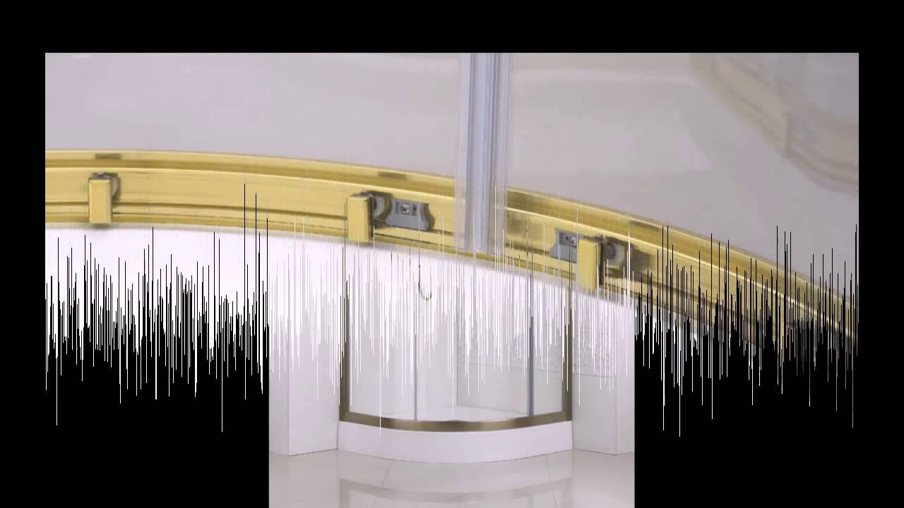 Замена роликов душевой кабины в Минске - YouTube