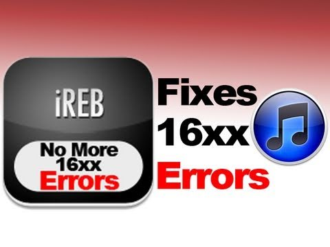 Fix iTunes Error 1604, 1603, 1602, 1601, 1600 & Others - Every iPhone, iPad & iPod Touch