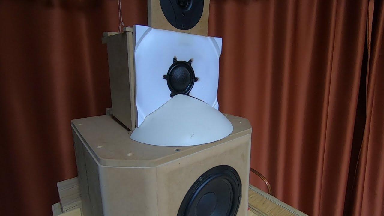 Запись звучания макета 4 хполосной ас
