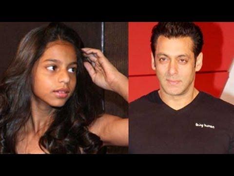 Shah Rukh's Daughter Suhana Fan Of Salman's Jai Ho