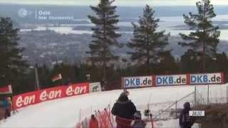 23.03.2014 Biathlon Oslo Massenstart Damen Winner Anastasia Kuzmina; Last Race Andrea Henkel!(full)