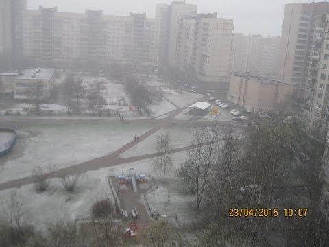 Какая погода в Санкт-Петербурге?