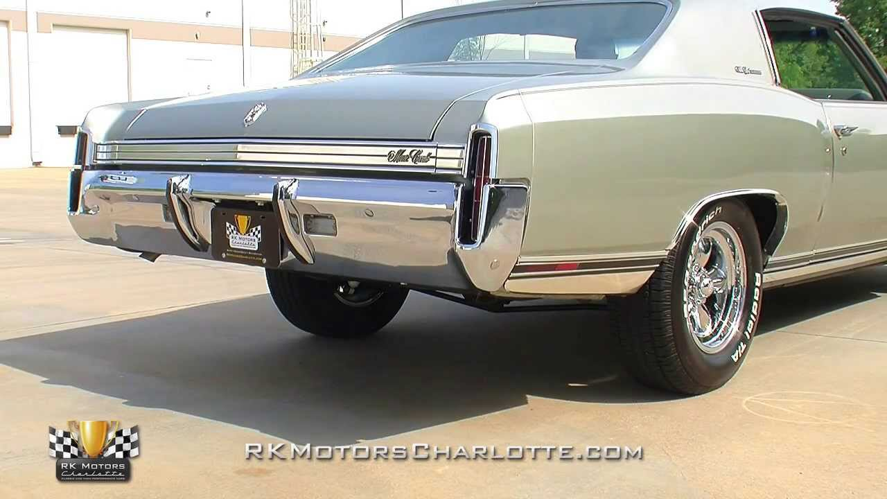 134272 1972 Chevrolet Monte Carlo Custom Youtube
