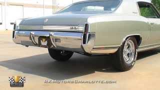 134272 / 1972 Chevrolet Monte Carlo Custom