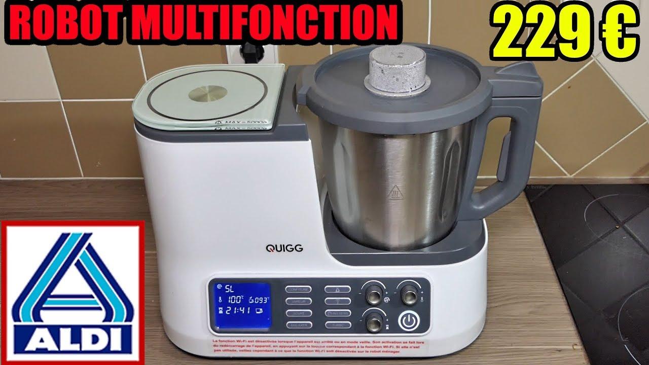 robot de cuisine aldi quigg type monsieur cuisine plus lidl silvercrest