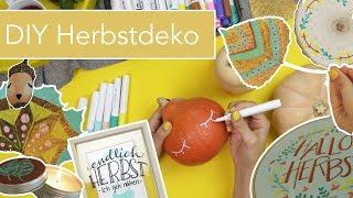 5 einfache DIY Herbst Dekoideen