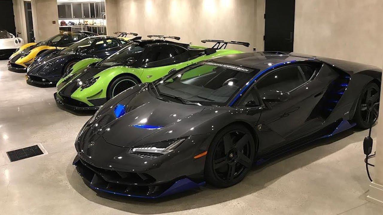 My Friend Bought A New 2 5m Lamborghini Centenario And Three Pagani Zondas Youtube