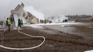 Страшное крушение Ан-26 в Казахстане. Четверо погибших, двое в больнице
