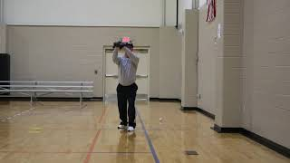 Baseball Fly Ball Drill