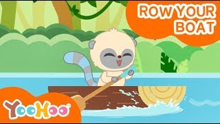 Sing and Dance | YooHoo and Friends | Row Your Boat | Preschool | Kids Music | Children English Song