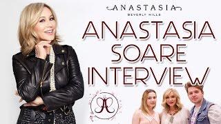 Anastasia Beverly Hills Romania | Deschidere Salon Constanta | Anastasia Soare ABH Interview