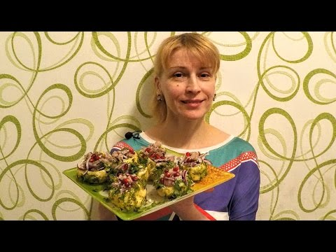 Новогодние рецепты Красивая Закуска на праздничный стол  рецепты