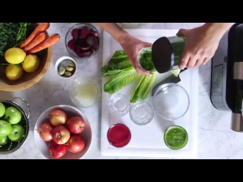 Juicing Fruits & Vegetables in the Philips Micro Juicer