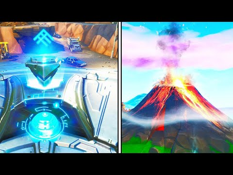 *NEW* VOLCANO ERUPTING EVENT in Fortnite! thumbnail