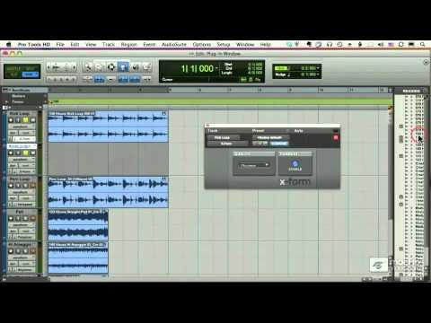 Pro Tools 205: Elastic Audio - 25 X-Form Algorithm