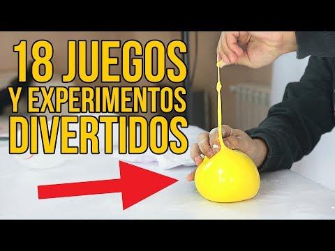 18 JUEGOS Y EXPERIMENTOS DIVERTIDOS PARA NIÑOS - Experimentos fáciles y sencillos