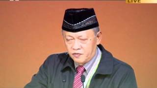 Attorney Barratucal L. Caudang, Minister of Education Philippines at Jalsa 2011