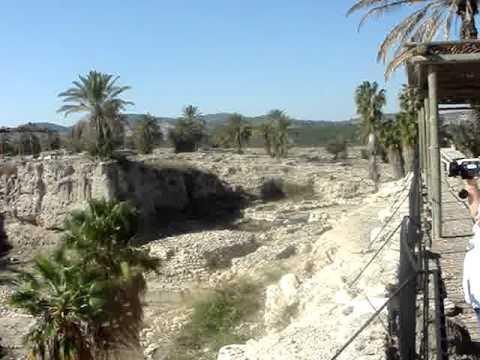 CONOCIENDO ISRAEL LAS RUINAS DEL TEMPLO DE SALOMON