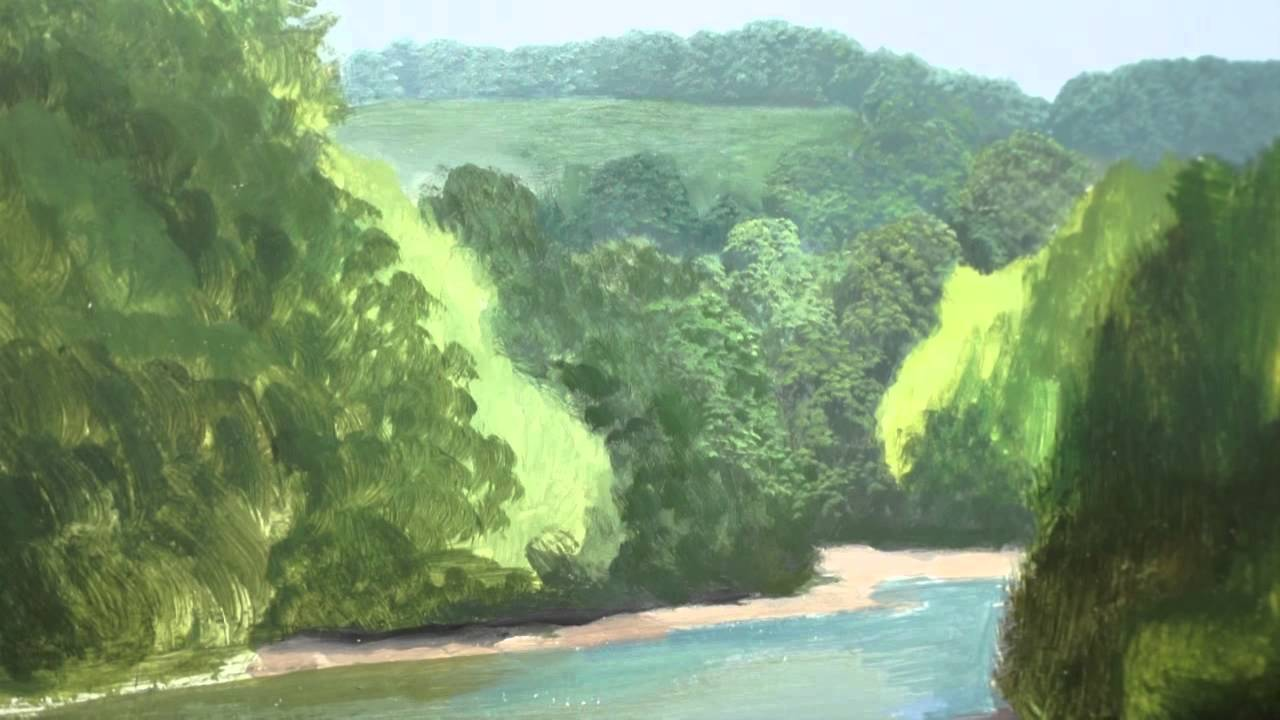 3 how to paint trees in the distance oil painting for Michael james smith paintings