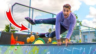 VETTE TRICKS LEREN IN SKATEPARK!