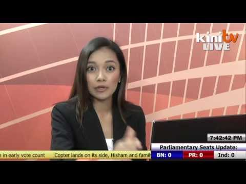 KiniTV's Live Election Report - 7.45pm