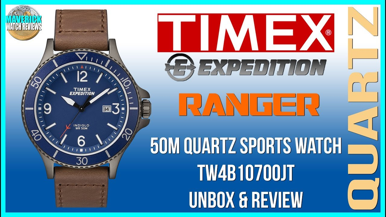 Quartz Great Looking Expedition Review Watch 50m Unboxamp; BeaterTimex Tw4b10700jt New Ranger qSVzpGUM