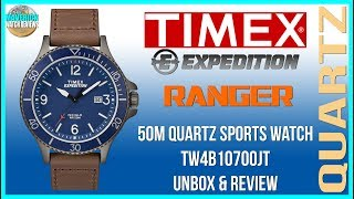 Great Looking New Beater! | Timex Expedition Ranger 50m Quartz Watch TW4B10700JT Unbox & Review