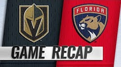 Barkov, Hoffman, Reimer propel Panthers past Knights