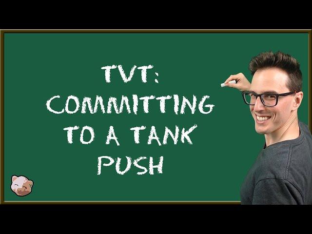StarCraft 2 Coaching | TvT - Committing to Tank Push