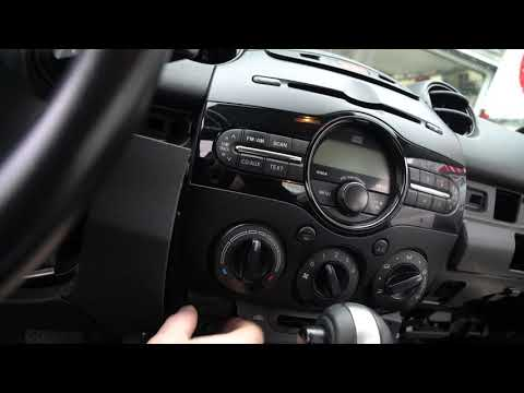 HOW TO INSTALL A RADIO IN MAZDA 2 2012