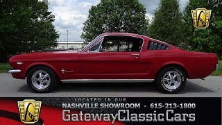 1965 Ford Mustang, Gateway classic cars  Nashville,#793NSH