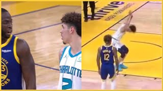 "LaMelo Ball Gets a Technical, So Draymond Gives Him Some Advice ""NOT WORTH IT!"""