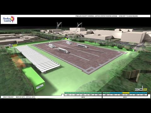 3D Animation - Parking Garage - Pinellas County, Florida - 2011