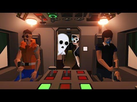 LIGHTNING STORM CRASHES GHOST PLANE? (Stormworks Multiplayer Gameplay Roleplay) Plane Crash Survival