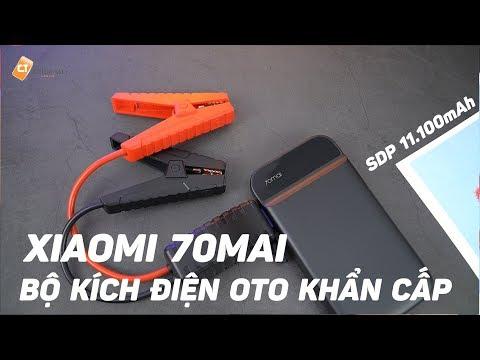 Xiaomi 70Mai - Bộ Kích Điện ÔTÔ Khẩn Cấp, Kiêm Sạc Dự Phòng 11.100mAh - Tiện Lợi, Dễ Sử Dụng