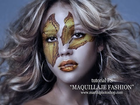 "tutorial PHOTOSHOP ""MAQUILLAJE FASHION"""