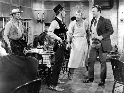Der Mann der Liberty Valance erschoss  - Beste Szene!! Konfrontation im Gasthaus!!
