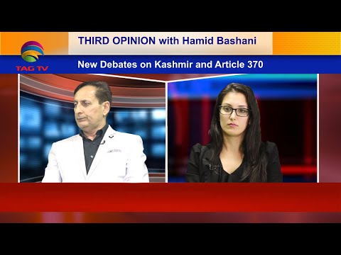 Is there any deal on kashmir on Article 370 - Third Opinion with Hamid Bashani