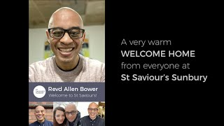 Welcome Revd Allen Bower