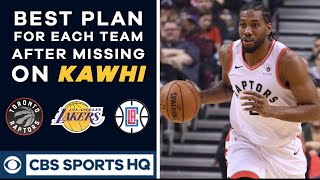 The BEST plan for teams that strike out on Kawhi Leonard | 2019 NBA Free Agency | CBS Sports HQ