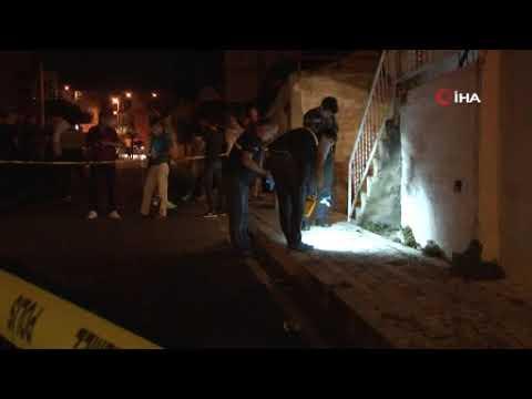 Operasyon yapılan eve molotof kokteylli saldırı