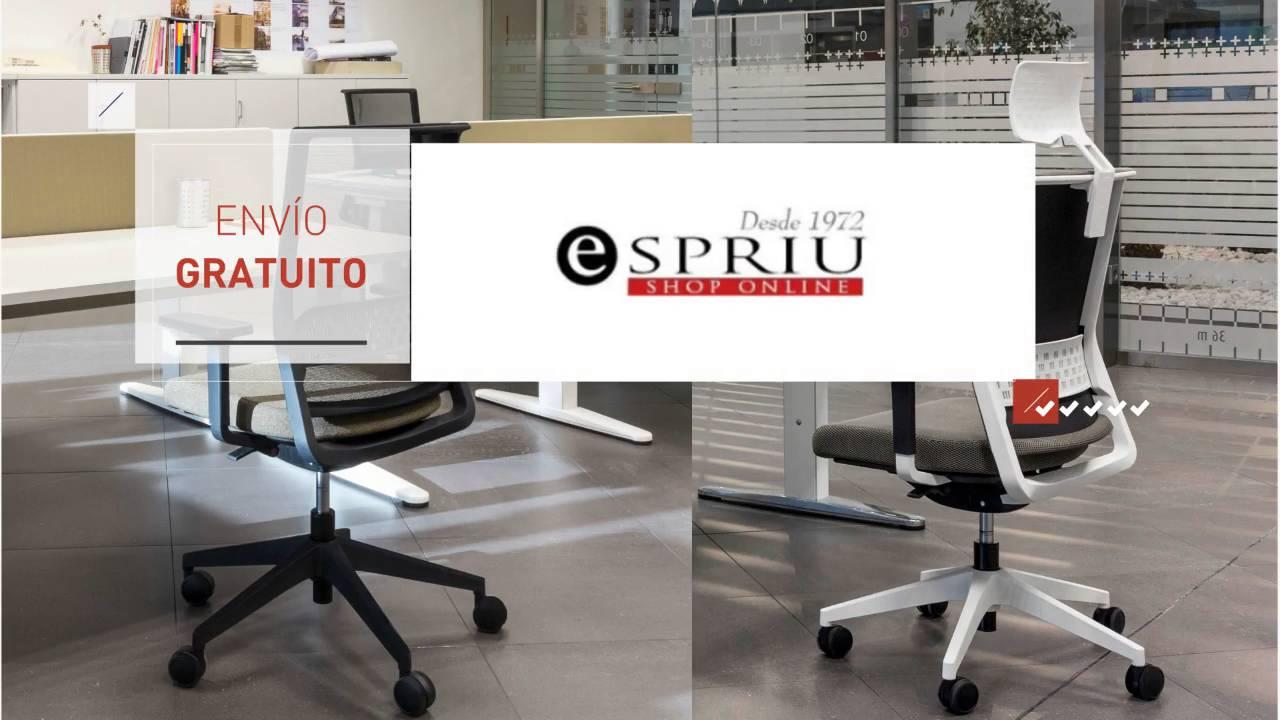 Comprar sillas de oficina - Espriu Mobiliario de oficina - YouTube