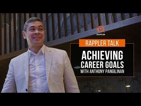 Rappler Talk: Achieving career goals with Anthony Pangilinan