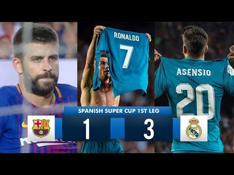 Barcelona 1-3 Real Madrid HD 1080i (Spanish Super Cup) Full Match Highlights 13/08/17